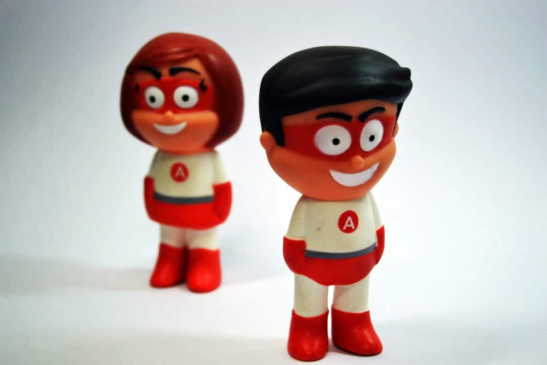 Personagens Herois do Atendimento – Bonecos