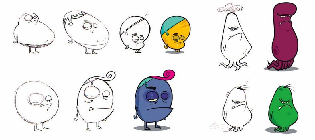 Personagens Herois do Atendimento – Sketches-005